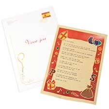 Brief van de Sint