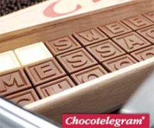 Chocoladetelegram & Chocoladeletters