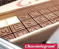 Chocoladetelegram & Chocoladeletters