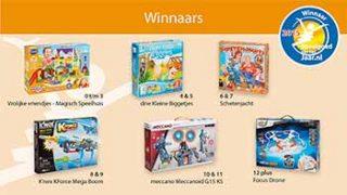 Winnaars Speelgoed van het Jaar 2015